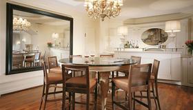 Starhotels Terminus - Nápoles - Sala de jantar