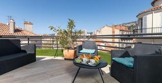 Celenya Hôtel - Toulon - Varanda