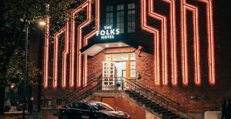 The Folks Hotel Konepaja - הלסינקי - בניין