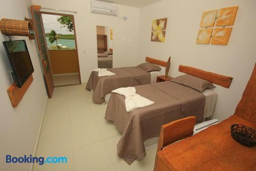 Pousada Paraiso da Barra - Barra de Santo Antônio - Bedroom