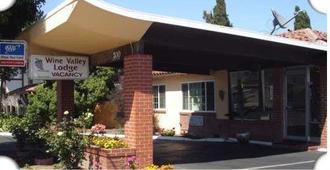 Wine Valley Lodge - Napa - Außenansicht