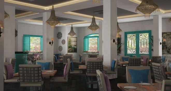 夏登節金海灘度假酒店 - 赫爾格達 - 洪加達 - 餐廳