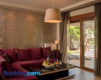 Olympus Villas - Paralia Panteleimonos - Living room