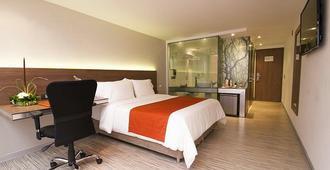Bogotá 100 Design Hotel - Bogota - Slaapkamer