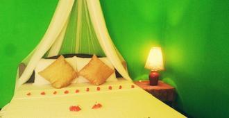 green bamboo house - Sigiriya