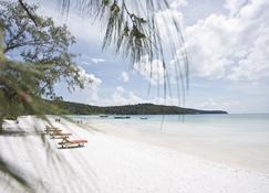 Orchid Resort - Koh Rong Sanloem - Beach