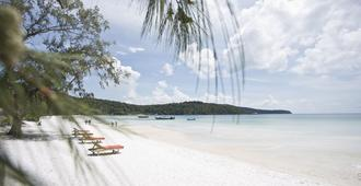 Orchid Resort - Koh Rong Sanloem - Strand