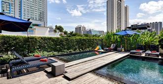 曼谷素坤逸輝盛閣國際公寓 - 曼谷 - 游泳池