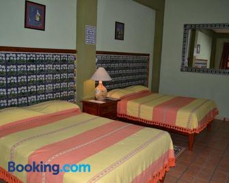 Hotel Posada La Casona de Cortes - Tlaxcala - Schlafzimmer