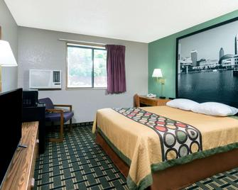 Super 8 by Wyndham Twinsburg/Cleveland Area - Twinsburg - Ložnice
