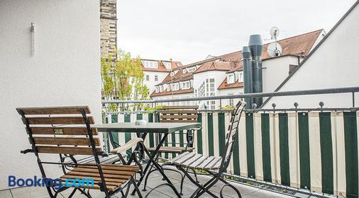 Hotel Zumnorde - Erfurt - Balcony