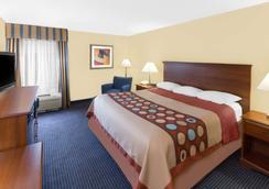 Super 8 by Wyndham Hattiesburg South - Hattiesburg - Bedroom