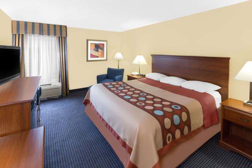 斯堡南速 8 酒店 - 哈提斯堡 - 哈蒂斯堡 - 臥室