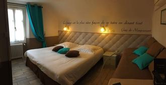 Hotel Chalet De L'isere - קאן - חדר שינה