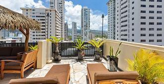 Bamboo Waikiki Hotel - Honolulu - Ban công
