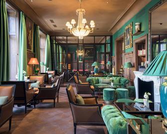 Grand Hotel Kronenhof - Pontresina - Lounge