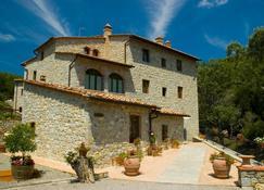 Hotel Le Pozze Di Lecchi - Gaiole In Chianti - Gebäude