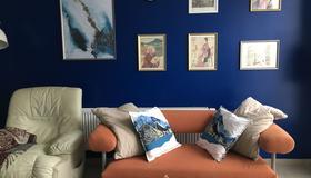 Cozy Apartment In Suburbs Of Antwerp - Amberes - Sala de estar