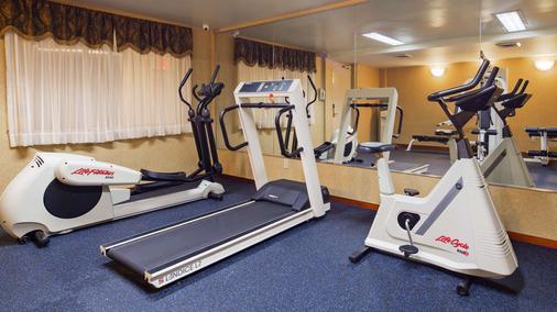 Best Western Queens Court Hotel - Queens - Gym