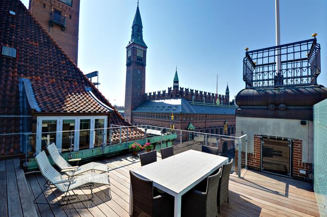 Scandic Palace Hotel - Copenhagen - Balcony