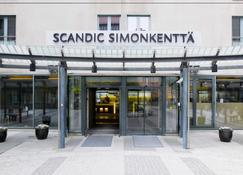Scandic Simonkenttä - Helsínquia - Edifício