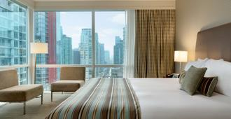 Coast Coal Harbour Vancouver Hotel by APA - Vancouver - Bedroom