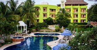 Suites & Hotel Punta Esmeralda - Puerto Escondido - Piscina