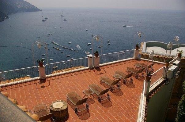 Hotel Casa Albertina - Positano - Balcony