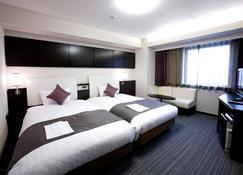 川崎大和roynet飯店 - 川崎市 - 臥室