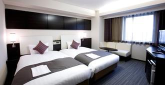 川崎大和roynet飯店 - 川崎 - 臥室