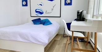M モーテル & スイーツ - ケベック・シティ - 寝室