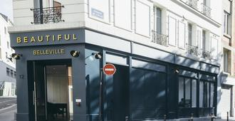 Beautiful Belleville Hostel & Hotel - Paris - Bygning