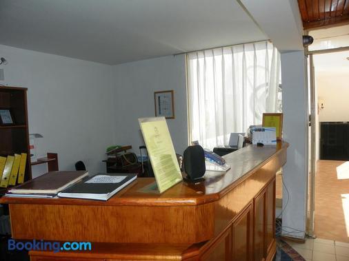 Hotel Savona - Arica - Front desk