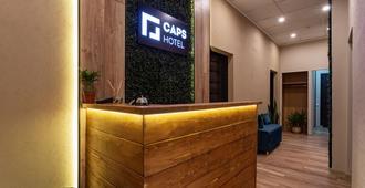 Caps Hotel - Moskova - Vastaanotto