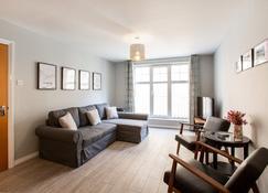 Belfast City Centre Luxury Apartment - เบลฟาส - ห้องนั่งเล่น