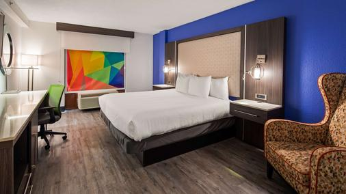 Best Western Plus Executive Residency Denver-Stapleton Hotel - Denver - Schlafzimmer