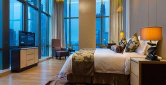 Wyndham Grand Shenzhen - Thẩm Quyến - Phòng ngủ