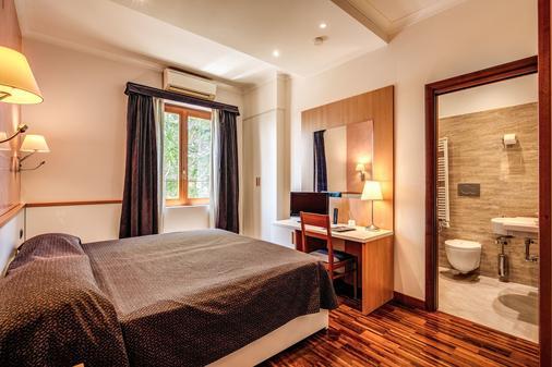 羅馬提布緹娜酒店 - 羅馬 - 羅馬 - 臥室