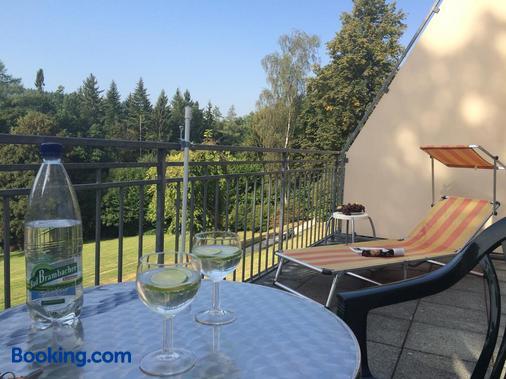 Apartment Sonnenhof Bad Elster - Bad Elster - Balcony