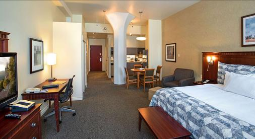 Le Square Phillips Hotel And Suites - Montreal - Makuuhuone