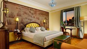 جراند هوتل سافويا - جنوة - غرفة نوم