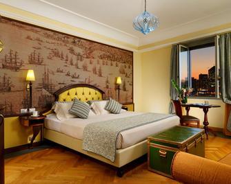 Grand Hotel Savoia - Генуя - Спальня