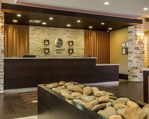 Comfort Inn Sylva - Cullowhee - Dillsboro - Front desk