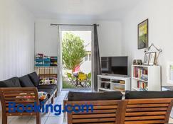 Maison (75m2) - le patio du centre ville - Tours - Living room
