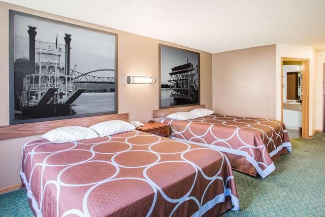 Super 8 by Wyndham Prairie Du Chien - Prairie du Chien - Bedroom
