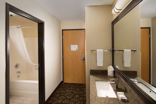 貝斯特韋斯特普拉斯溫哥華商城博士套房酒店 - 溫哥華 - 溫哥華 - 浴室