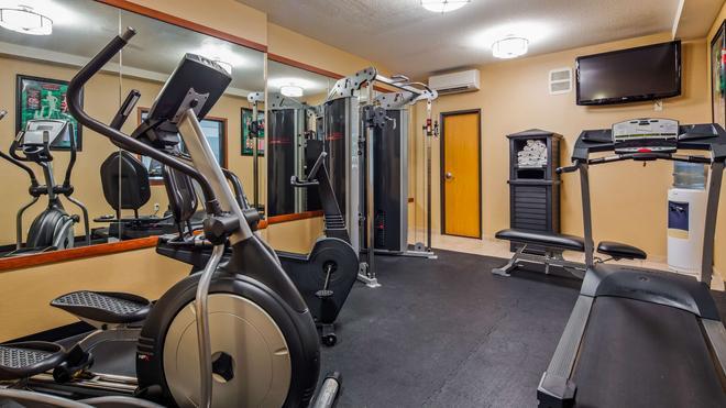 貝斯特韋斯特普拉斯溫哥華商城博士套房酒店 - 溫哥華 - 溫哥華 - 健身房