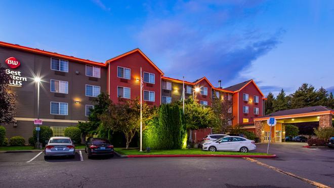 貝斯特韋斯特普拉斯溫哥華商城博士套房酒店 - 溫哥華 - 溫哥華 - 建築