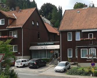 Hotel Pension Am Kurmittelhaus - Bad Grund - Building