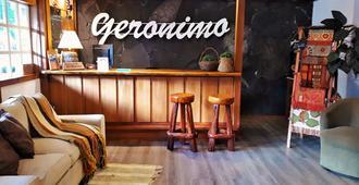 Hotel Geronimo - Pucón - Front desk